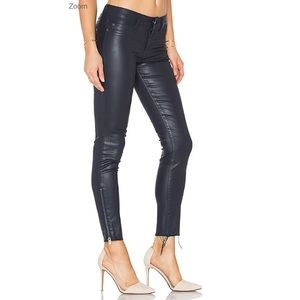 DL1961 Skinny Margaux Ankle Zipper Pants Size 25